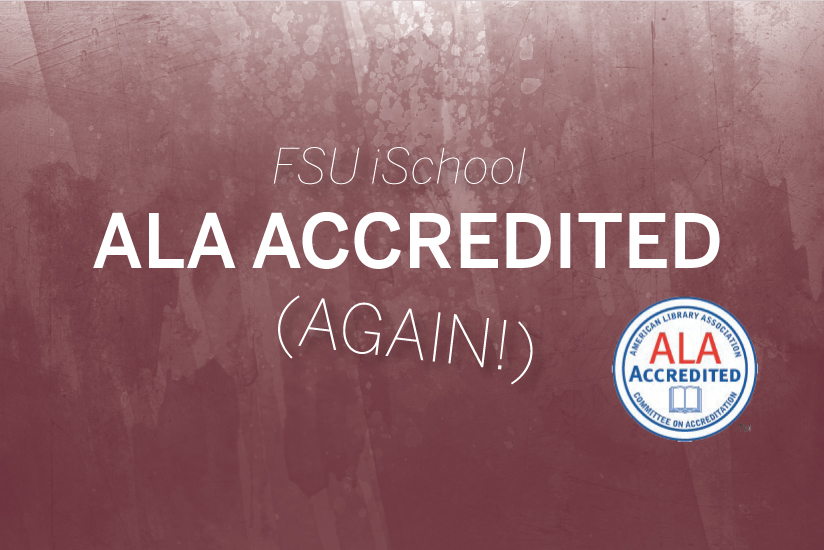 FSU iSchool ALA Accredited - graphic
