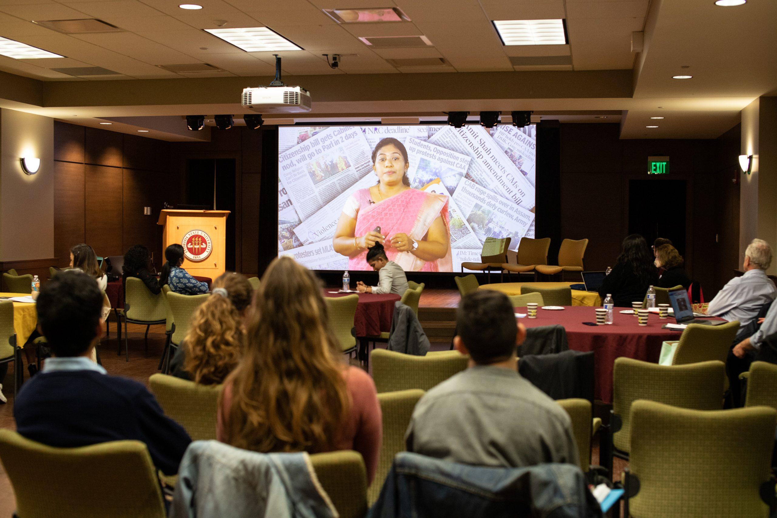 Virtual Presentation at SAMCS