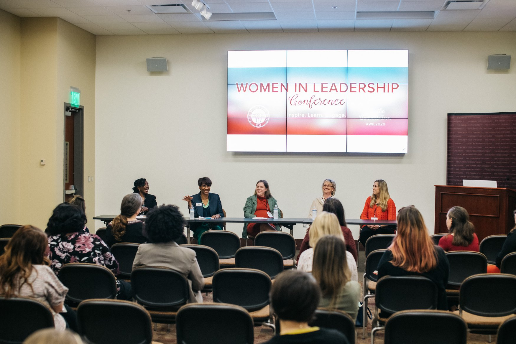 Workshop at the Women in Leadership conference
