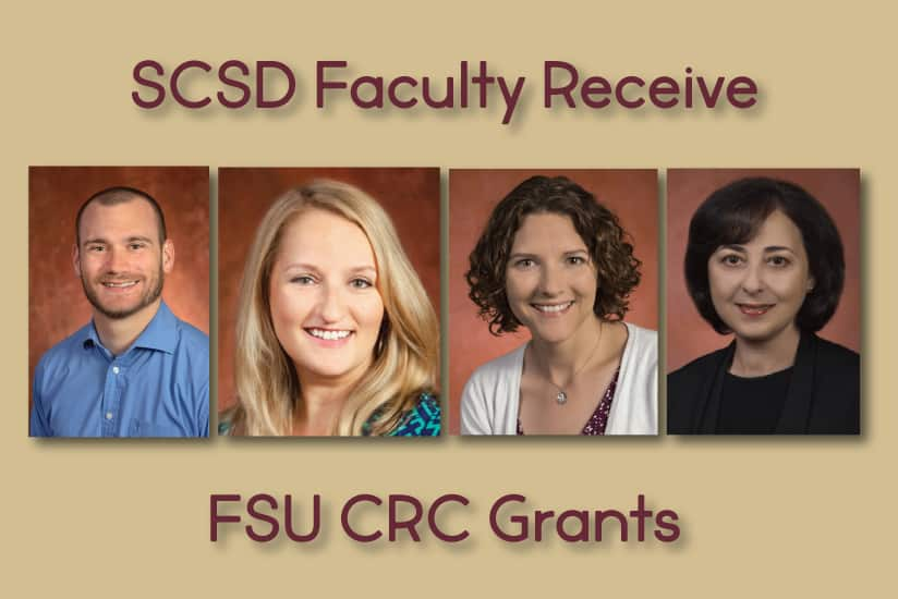 SCSD faculty receive CRC grants