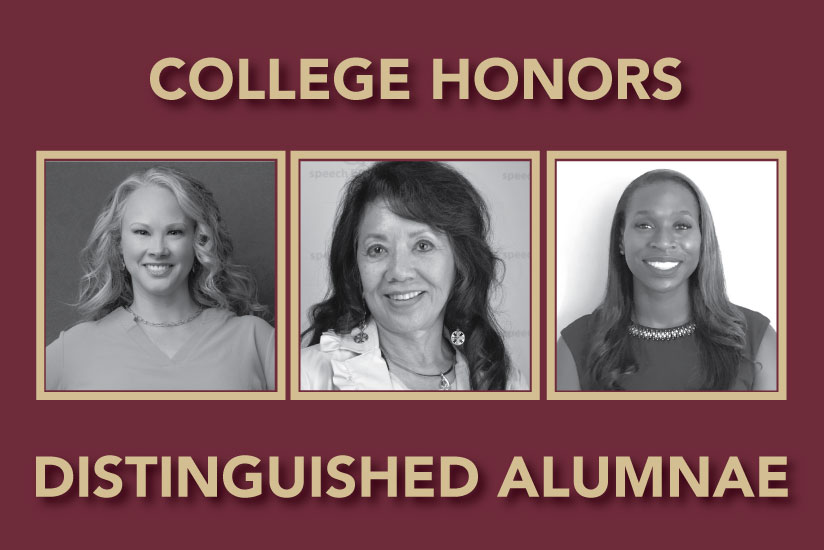 distinguished alumnae graphic 2020