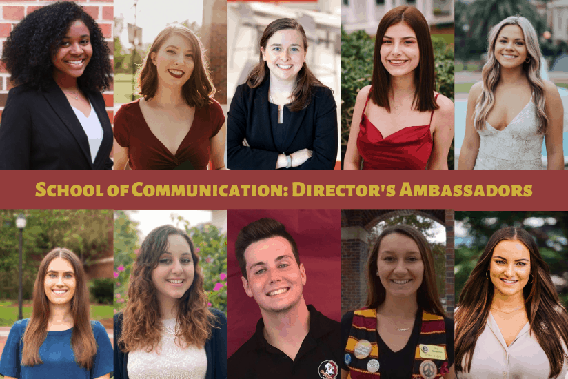 School of Communication Director's Ambassadors graphic