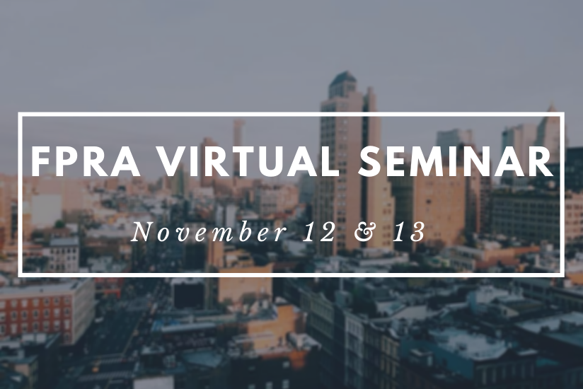 FPRA virtual seminar graphic