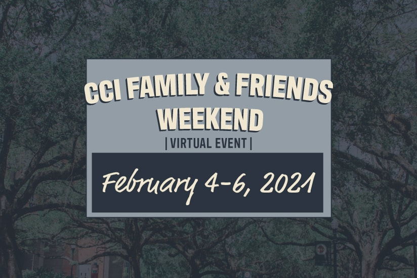 family and friends weekend graphic