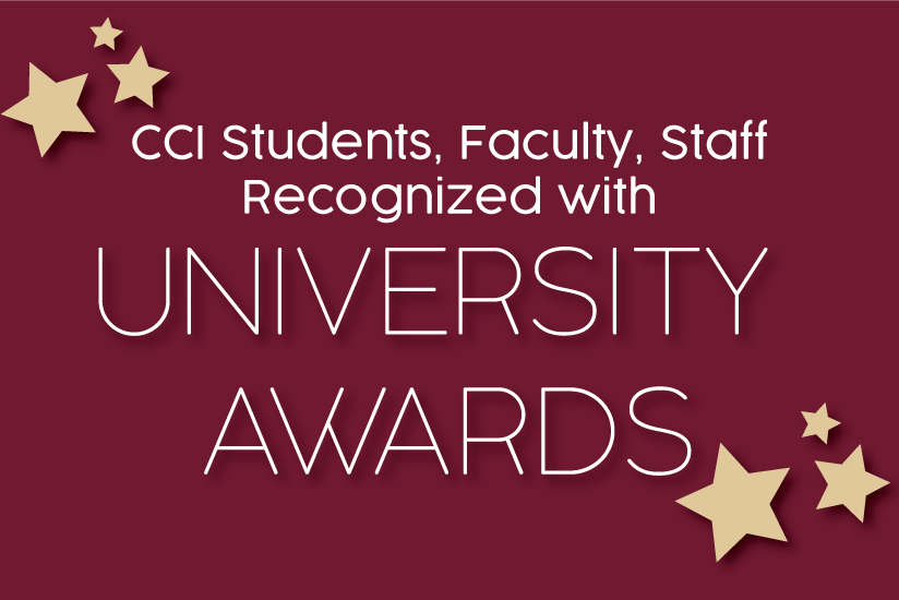university awards graphic