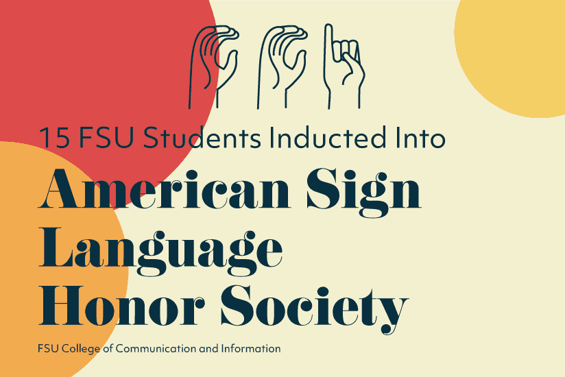 FSU Students Inducted into ASL Honor Society article graphic