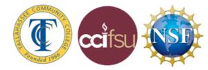 tcc, cci, nsf logos
