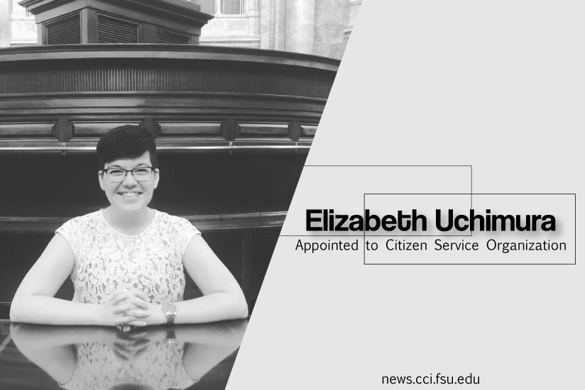 Elizabeth Uchimura Appointed to Citizen Service Organization