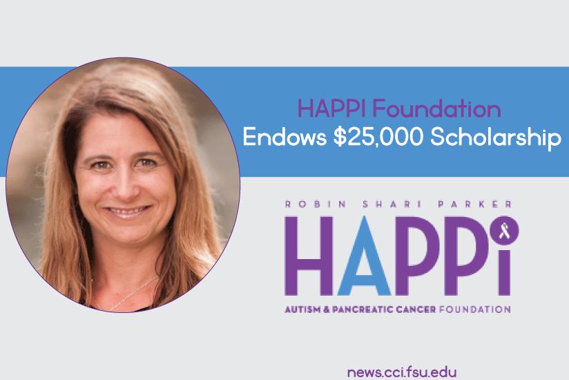 HAPPI Foundation Endows $25,000 Scholarship - Graphic