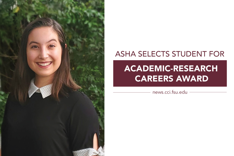 ASHA Selects Student for Academic Research Careers Award
