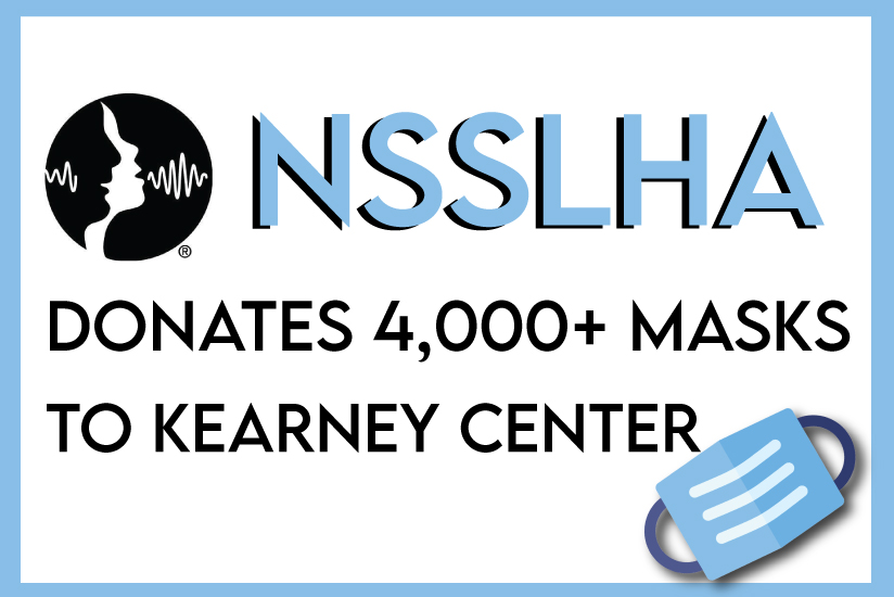 NSSLHA story about mask donation featured image