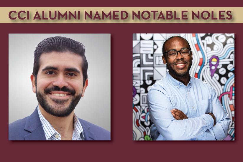 CCI alumni named notable noles graphic