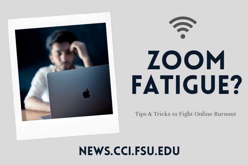 zoom fatigue graphic