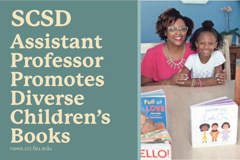 SCSD Assistant professor promotes diverse children's books