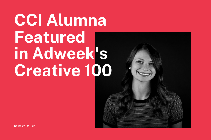 CCI Alumna Featured in Adweek's Creative 100: Article Thumbnail