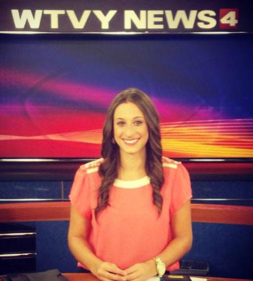 Taylor Tannebaum as WTVY Anchor